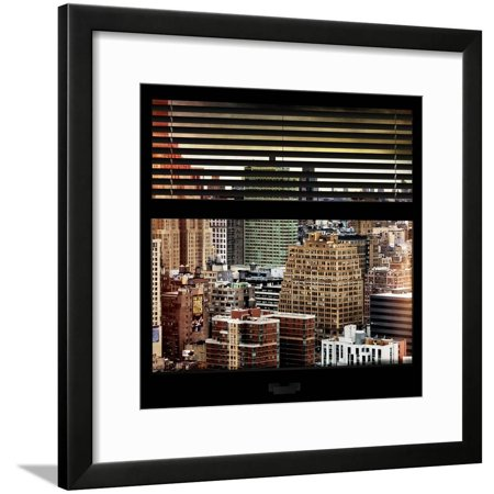 View From The Window Hell S Kitchen Nyc Framed Print Wall Art By Philippe Hugonnard