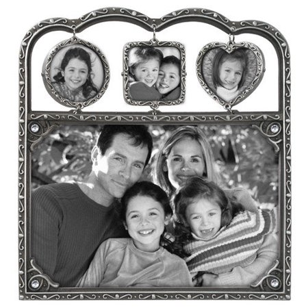 Pewter PHOTO CHARMS for family gift-giving ()