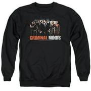 Criminal Minds The Brain Trust Mens Crewneck Sweatshirt