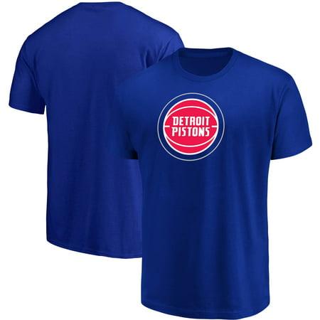 Men's Majestic Blue Detroit Pistons Victory Century (Adidas Detroit Pistons T-shirt)