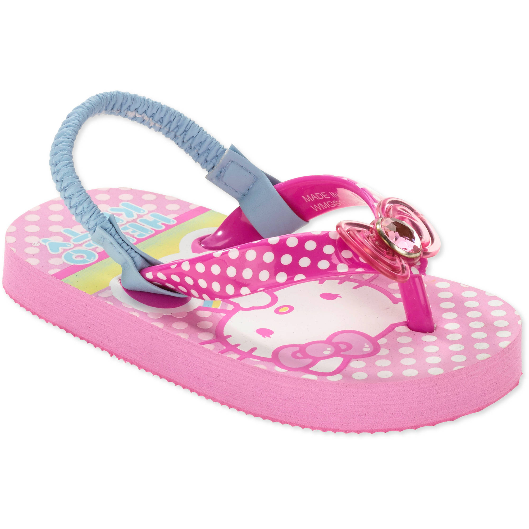 Hello Kitty Girls' Toddler Beach Flip Flop