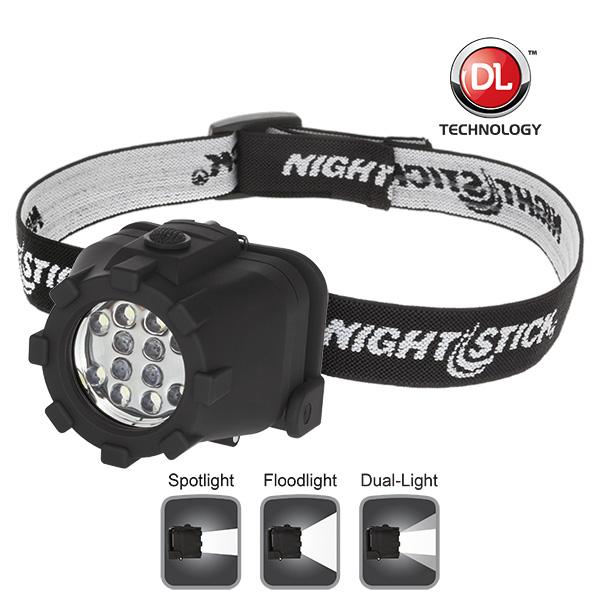 Nightstick NSP-4602B Dual-Light Headlamp