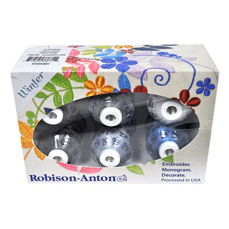 Robison-Anton Rayon Mini King 6 Spool Gift Pack - -