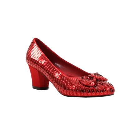 Child Red Sequin Shoes (Red Sequin Shoes Girls)