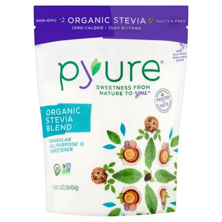 Pyure Organic Stevia Blend Granular All Purpose Sweetener  16 Oz