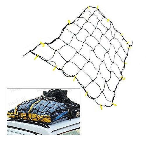 "36"" X 60"" Cargo Net Truck Car Suv 16 Neon With Hooks Tie Down Bed Pick Up Tight, Specifications: Tough Bungee-cord Net Over- By Unknown"