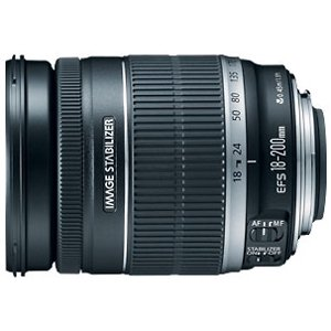 Canon EF-S 18-200mm f/3.5-5.6 IS Zoom Lens (Canon Zoom Lens Ef S 18 135mm)