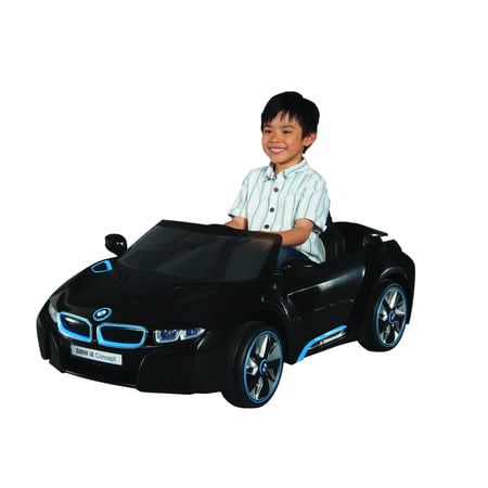 BMW 6V I8 Concept Car Battery-Powered Ride-On with working LED Headlights