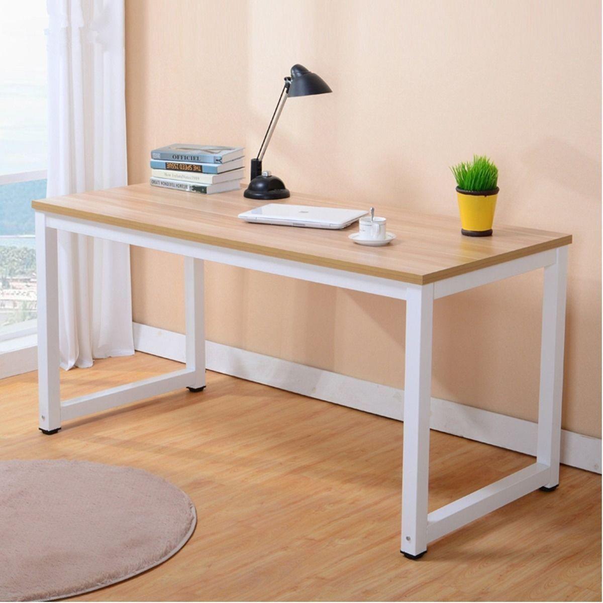 Ktaxon Computer Desk PC Laptop Wood Table Home Office Study Workstation  Furniture - Walmart.com