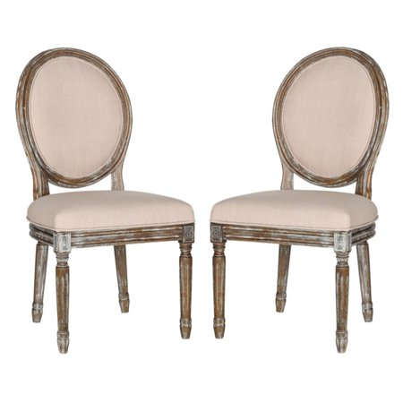 Safavieh Holloway Oval Side Chair, Set of 2 ()