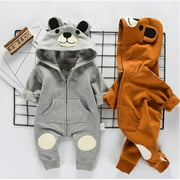 Newborn Baby Clothes Sets Girl Boy Romper Winter Outwear Outfits 0-24M