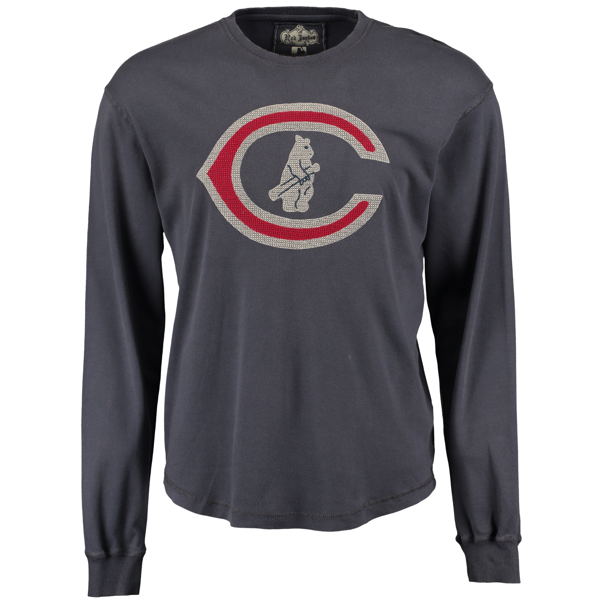 Chicago Cubs Red Jacket Rooted Sweatshirt - Navy