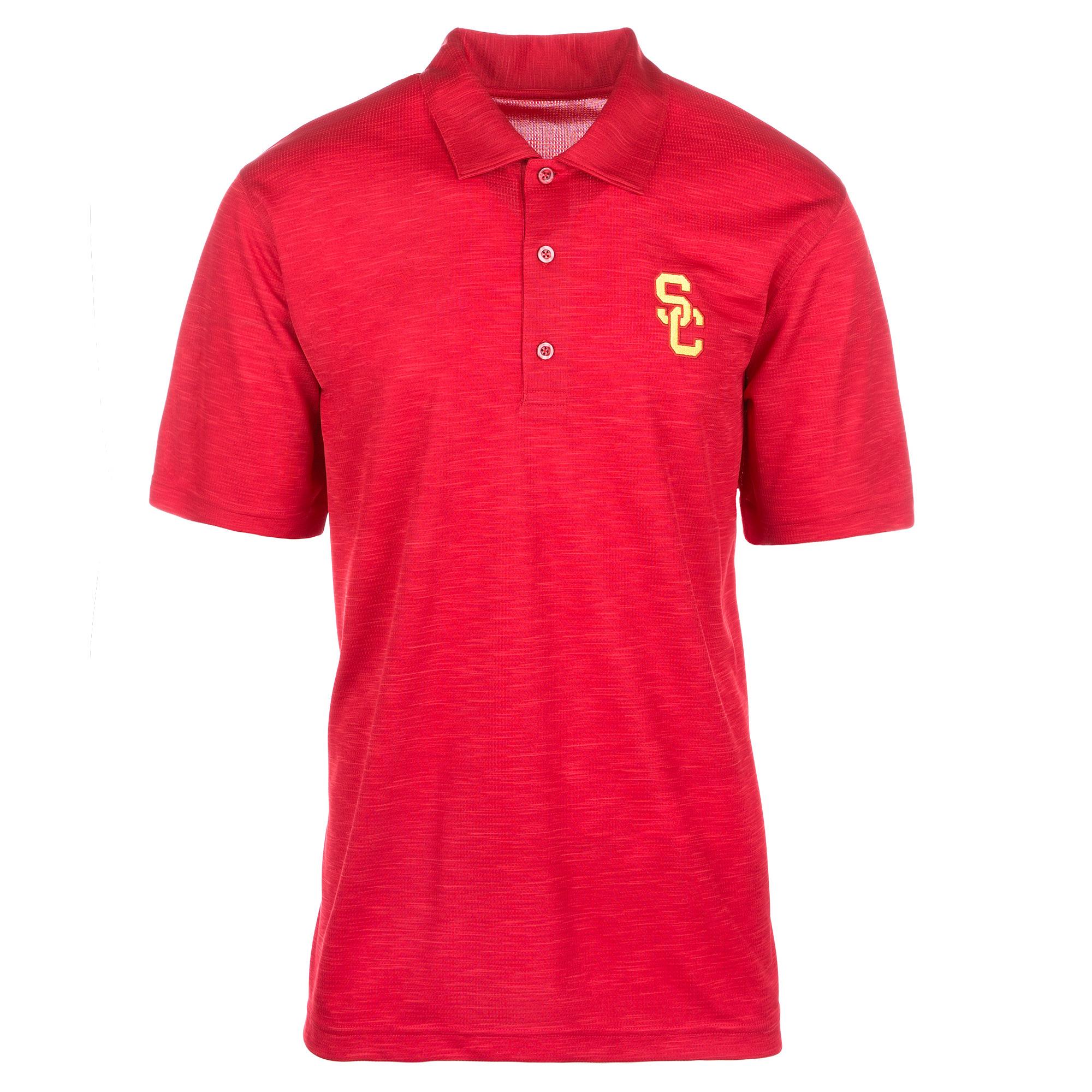 Men's Cardinal USC Trojans Drakar Basic Polo
