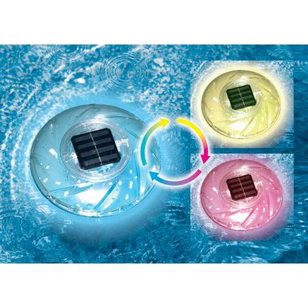 Aqua Color Light (Aqua Select Floating Solar Rainbow Light - Color Changing )