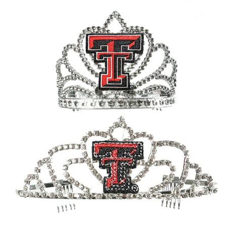 Texas Tech Red Raiders NCAA Mom and Daughter Royal Tiaras - Red Tiaras