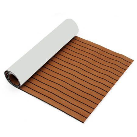 "1Pcs 35.4'' x 106.30"" Marine Boat Sheet Teak Decking Boat Flooring Mats Yacht Flooring EVA Foam Floor Sheet Self-Adhesive Mat,  5mm/6mm Thickness  - image 4 de 7"