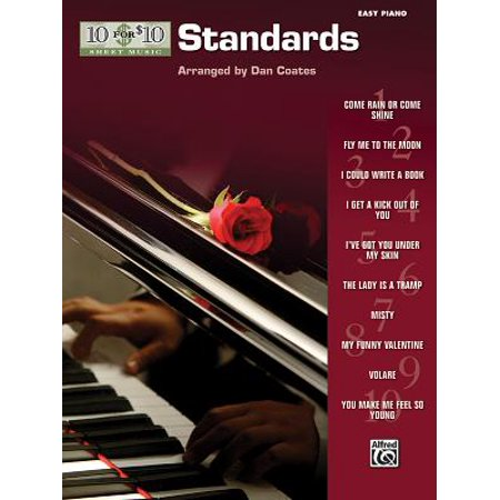 10 for 10 Sheet Music Standards : Easy Piano Solos - Halloween Movie Piano Sheet Music