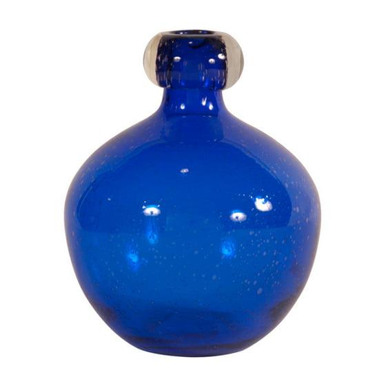 Elizabeth Austin Blown Glass Vase Cobalt Blue Walmart