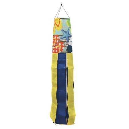 Flip Flops on the Dock Summer Windsock Nautical 50