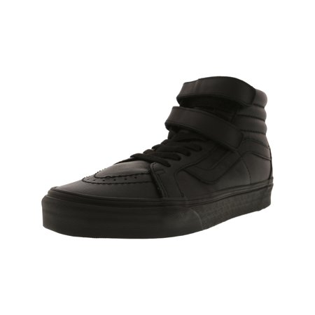 92006f001c Vans Sk8-Hi Reissue V Mono Leather Black Ankle-High Skateboarding Shoe - 9M  ...