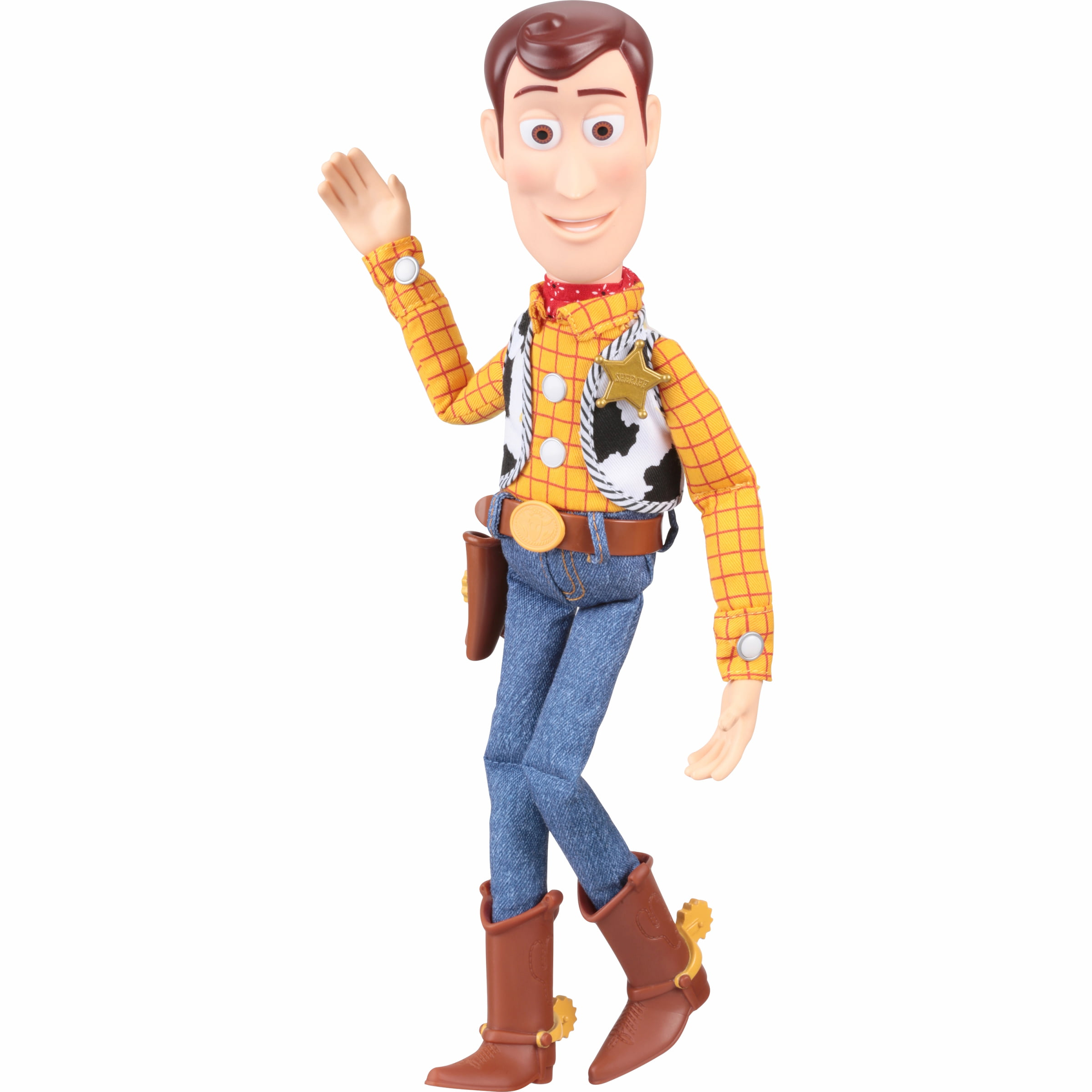 2dc8198e6bd98 Toy Story Talking Woody Action Figure - Walmart.com