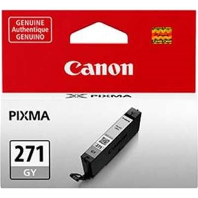 Canon Wide Format 0340C001 CLI-271XL High-Yield Ink, Gray