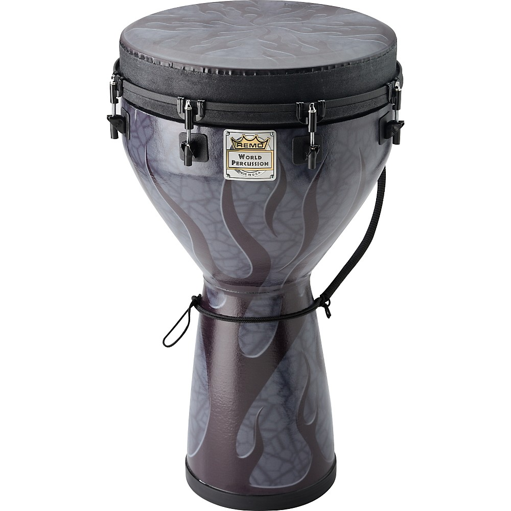 Remo Designer Series Key-Tuned Djembe  Shadow Flame