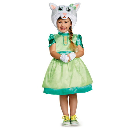 Toddler Katerina Kittycat Deluxe Halloween Costume](Halloween Gift Basket For Toddlers)