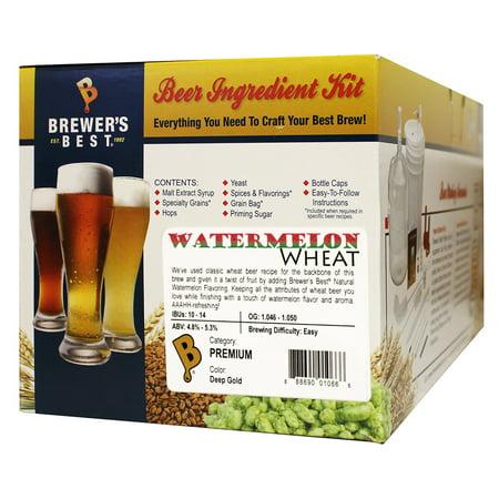 Brewer's Best Watermelon Wheat Beer Ingredient Kit Makes 5