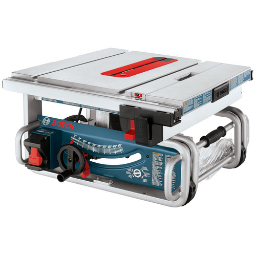 Factory-Reconditioned Bosch GTS1031-RT 10 in. Portable Jobsite Table Saw (Refurbished) by Bosch Tools