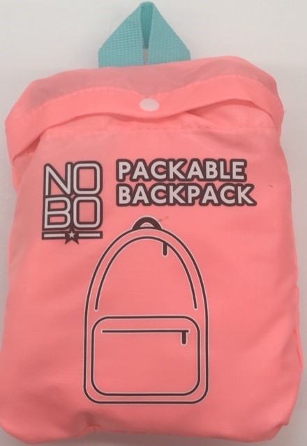 Packable Backpack Mystic Coral