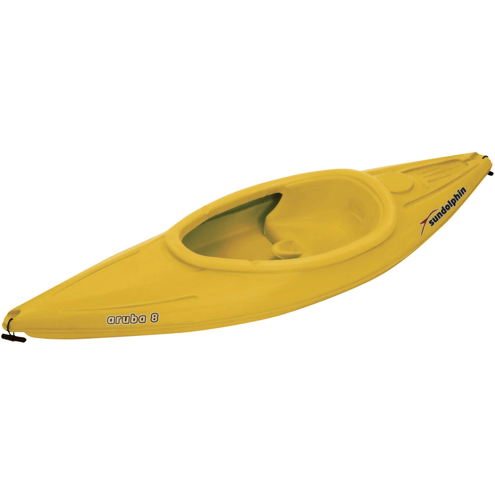 Sun Dolphin Aruba 8' Sit In Kayak, Paddle Included