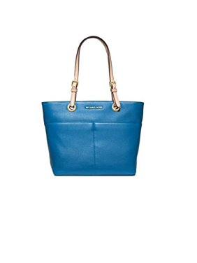 d63704d323f4 Product Image Michael Kors Jet Set Item Top Zip Tote Heritage Blue Leather  Bag New