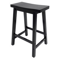 Winsome Wood Satori Saddle Seat Stool, Multiple Sizes and Colors