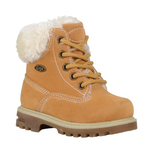 Infant Lugz Empire HI Fur Work Boot by Lugz