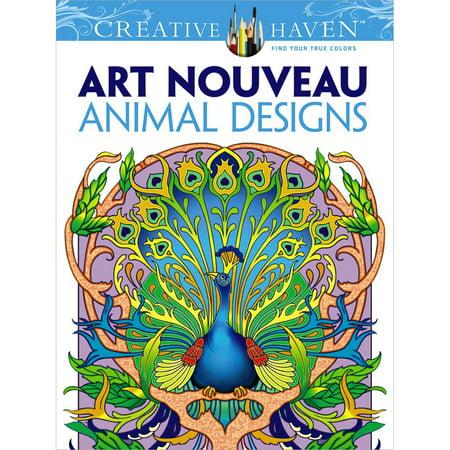 Dover Publications-Creative Haven: Art Nouveau Animal - image 1 de 1