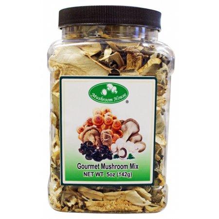 Dried Gourmet Mushroom Mix 5 oz Jar