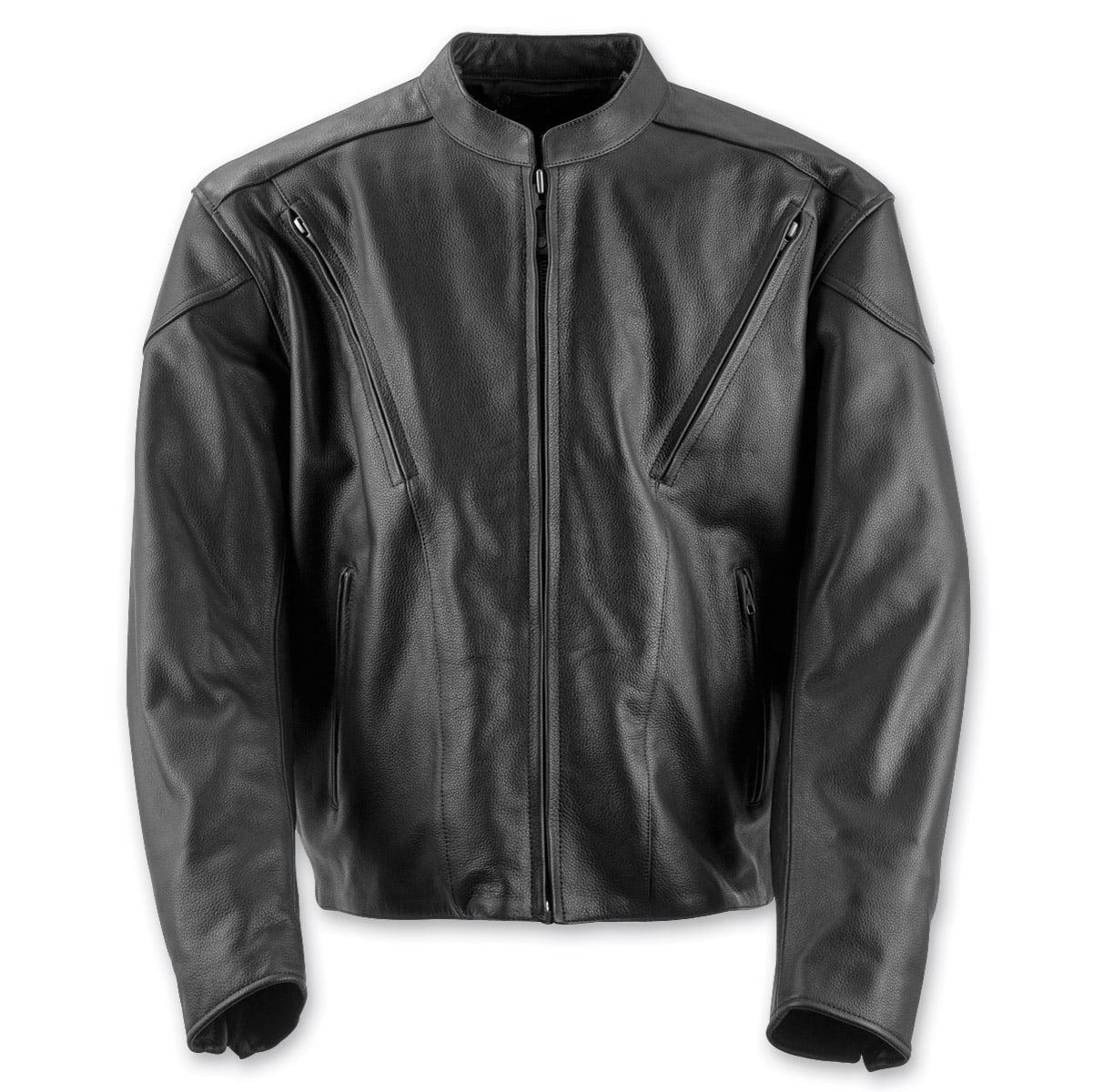 Black Brand Men's  Men's Killer Leather Jacket