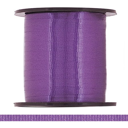 Curling Ribbon, Purple, 500 yd, (Purple Curling Ribbon)