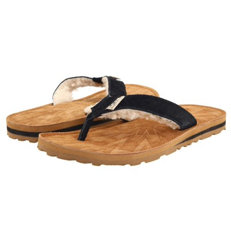 67d9b0b67c2 UGG Women's Tasmina Suede Flip Flop Sandals 1647