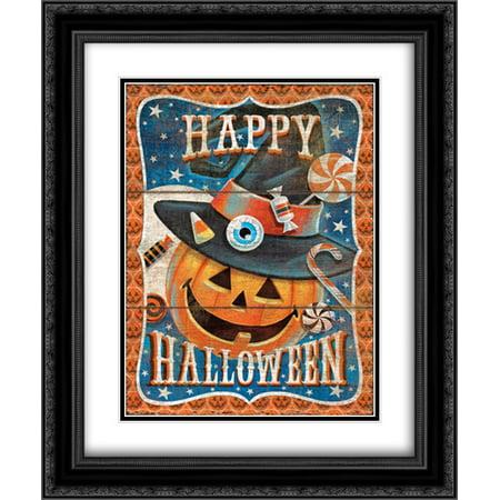 Happy Halloween 2x Matted 20x24 Black Ornate Framed Art Print by P.S. Art Studios](Happy Halloween Makeup Studio)