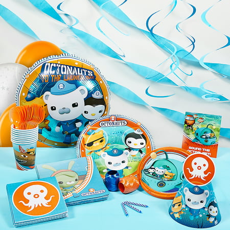 Octonauts Super Deluxe Party Kit - Octonauts Characters Tweak