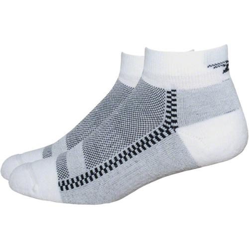 DeFeet Cloud 9 Low Sock White Large