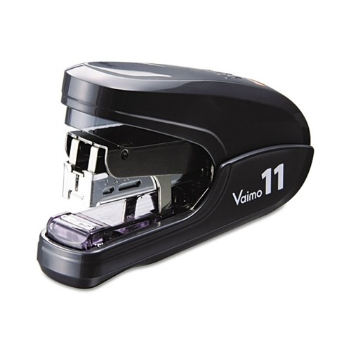 Max USA Flat Clinch Light Effort Stapler, 35-Sheet Capacity, Black HD11FLK BLACK