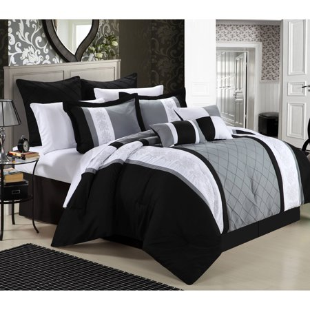 Chic Home Arlington 12 Piece Bed In A Bag Comforter Set