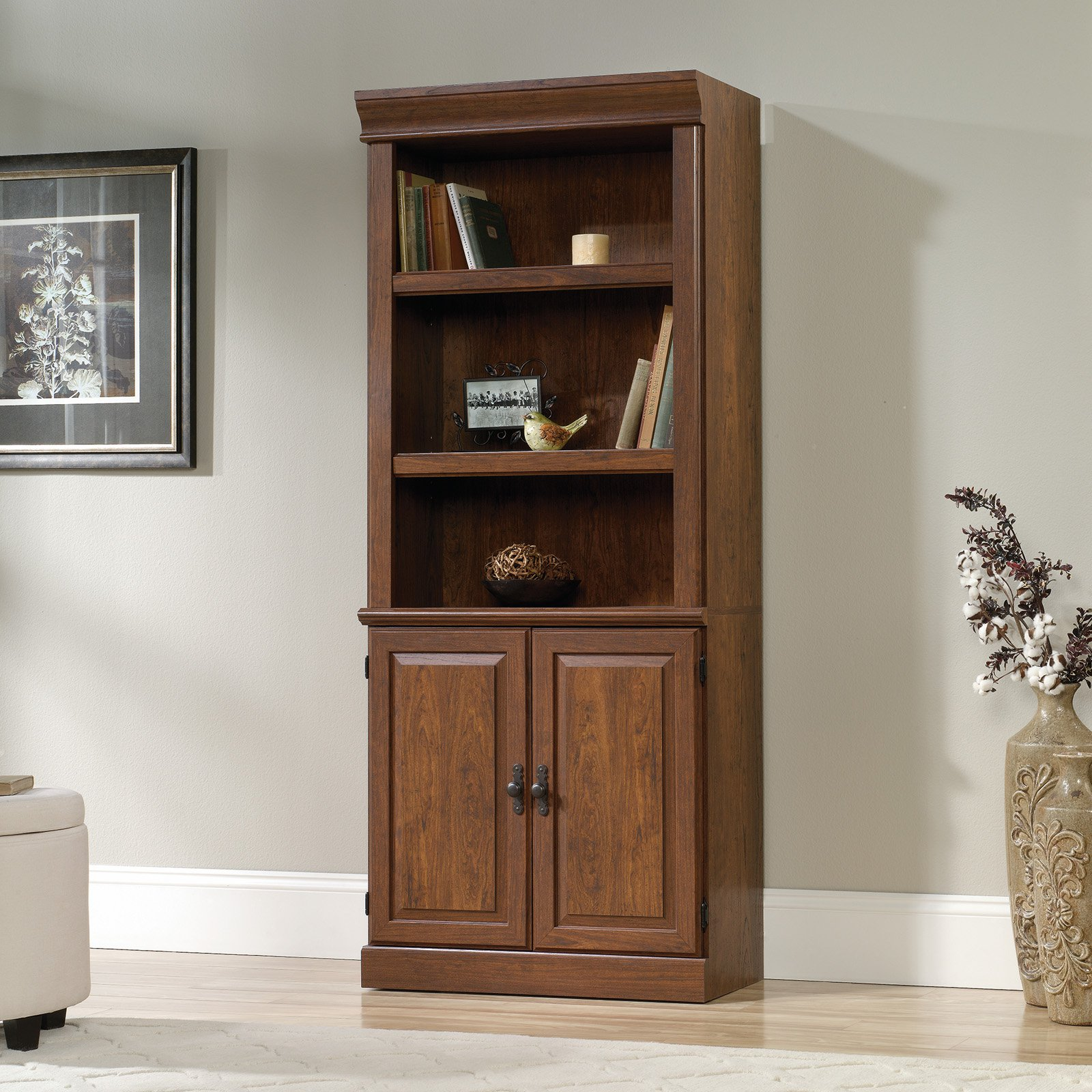 Sauder orchard hills library bookcase with optional doors sauder orchard hills library bookcase with optional doors walmart vtopaller Gallery