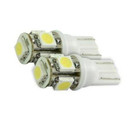 Recon Accessories 264201wh Dome Light Bulb Led Dome Light Bulb Led 194 168 T10 Led Bulb White Light Set Of 2