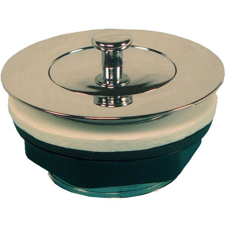 American Hardware Bathtub Strainer with Pop-up Stopper,