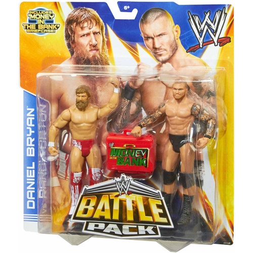 WWE Daniel Bryan and Randy Orton Action Figures, 2-Pack