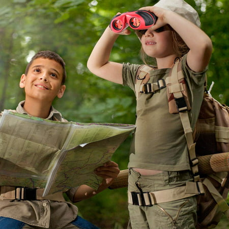 Peroptimist Kids Binoculars,  Kid Binoculars Toy Gift,High Resolution and Real Optics, Spotting Telescope for Bird Watching, Hunting,Hiking,Best Presents for Boys and
